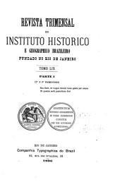 Revista do Instituto Histórico e Geográfico Brasileiro: Volume 59