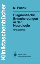Diagnostische Entscheidungen in der Neurologie: Ausgabe 2