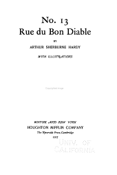 No. 13, Rue Du Bon Diable