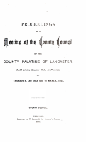 Proceedings at a Meeting of the Lancashire County Council PDF