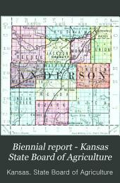 Biennial Report - Kansas State Board of Agriculture: Volume 3
