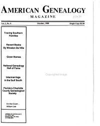 American Genealogy Magazine PDF