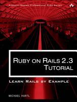Ruby on Rails 2 3 Tutorial PDF
