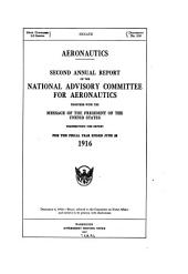 Annual Report of the National Advisory Committee for Aeronautics: Volume 2, Part 4; Volumes 8-12