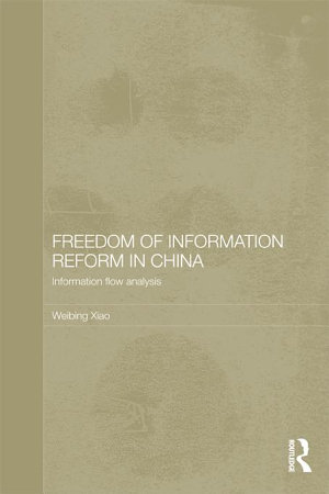 Freedom of Information Reform in China