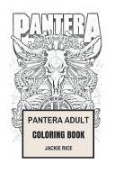 Pantera Adult Coloring Book
