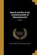 BENCH   BAR OF THE COMMONWEALT PDF
