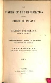 The History of the Reformation of the Church of England: Volume 5