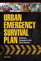 Urban Emergency Survival Plan PDF