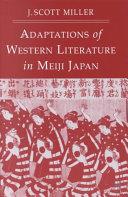 Adaptions of Western Literature in Meiji Japan PDF