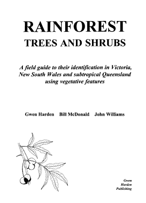Rainforest Trees and Shrubs PDF
