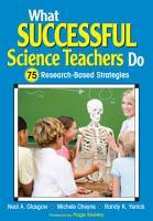 What Successful Science Teachers Do PDF