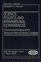 Science  Politics  and International Conferences PDF