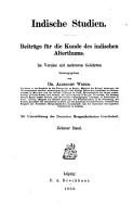 Indische Studien PDF