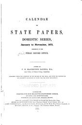 Calendar of State Papers, Domestic Series, of the Reign of Charles II: Volume 11