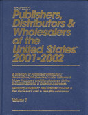 Publishers  Distributors and Wholesalers of the United States 2001 2002