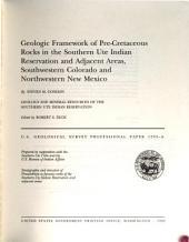 U.S. Geological Survey Professional Paper: Volume 1505, Parts 1-4