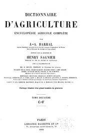 Dictionnaire d'agriculture, encyclopédie agricole complète: Volume2