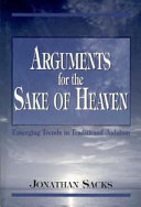 Arguments for the Sake of Heaven