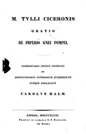 Orationes: De imperio Cn. Pompei, Volume 2, Issue 2