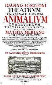 Theatrum universale omnium quadrupedum