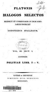 Politiae libri 1-10