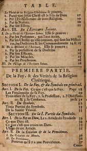 Catéchisme, ou Instruction dans la religion chrétienne