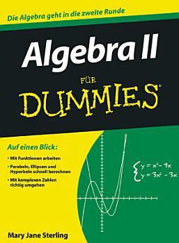 Algebra II f  r Dummies PDF