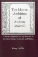 The Modest Ambition of Andrew Marvell PDF