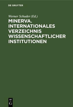 Minerva  Internationales Verzeichnis Wissenschaftlicher Institutionen PDF