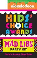 Nickelodeon Kids  Choice Awards Mad Libs Party Kit