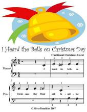 I Heard the Bells On Christmas Day - Beginner Tots Piano Sheet Music