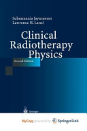 Clinical Radiotherapy Physics