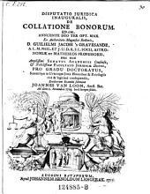 De collatione bonorum