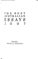 Best Australian Essays PDF