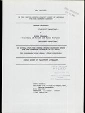 Ragsdale V. Shalala: Issues 94-1890