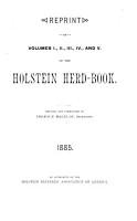 Holstein Herd book PDF