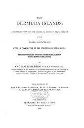 The Bermuda Islands: a Contribution to the Physical History and Zoology of the Somers Archipelago