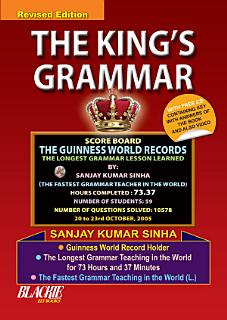 The King   s Grammar Book