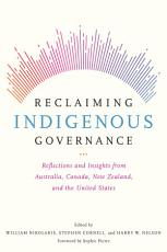 Reclaiming Indigenous Governance PDF