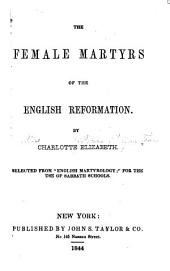 The Female Martyrs of the English Reformation