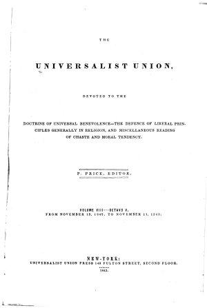 Universalist Union