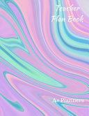 Teacher Plan Book Book