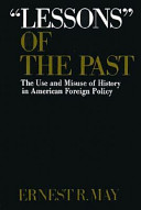 Lessons  of the Past Book