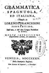 Grammatica spagnuola ed italiana