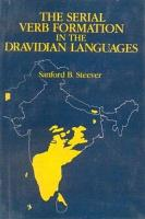 The Serial Verb Formation in the Dravidian Languages PDF