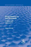 From Tiberius to the Antonines  Routledge Revivals  PDF