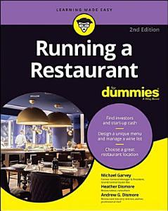 Running a Restaurant For Dummies Book