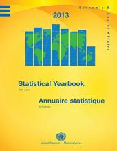 Statistical Yearbook 2013. Issue 58