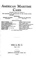 American Maritime Cases PDF